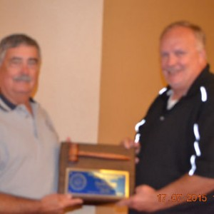 David Faust Thanked for Serving on Board