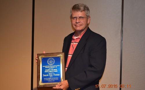 Jimmie Dale Thomas – Howard K. Williford Award