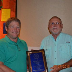 Myron Foster Outgoing District Directors Honored