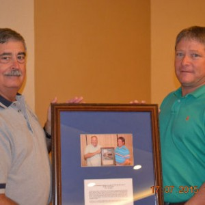 Marion Marsec Thanked for Serving as 2014 President