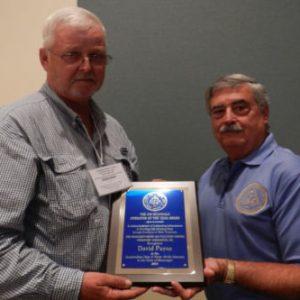 David Payne Awarded 2015 Jim McDonald Award