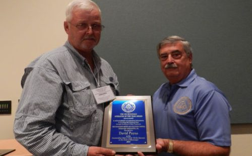 2015 CLASS D WATER SUPPLY OPERATOR OF THE YEAR DAVID PAYNE