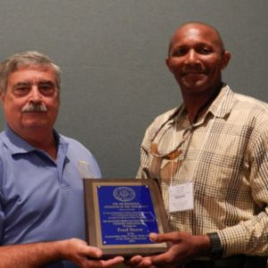 Fred Snow Awarded the 2015 Jim McDonald Award