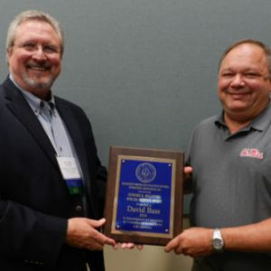 David Bass Honored on July 15 with the Howard K. Williford Special Service Award