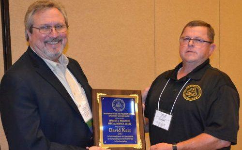 David Karr – 2017 Howard K. Williford Award