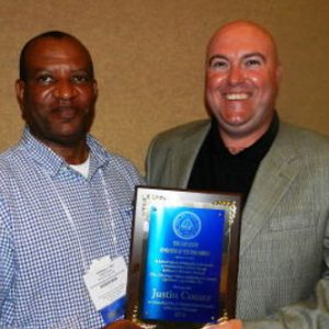 JUSTIN COMER – 2016 DON SCOTT AWARD CLASS II POLLUTION CONTROL OPERATOR OF THE YEAR