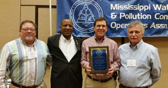 BILLY WILLIAMS, JR. OF BATESVILLE – 2017 JIM McDONALD WATER SUPPLY OPERATOR OF THE YEAR FOR A CLASS C WATER SYSTEM